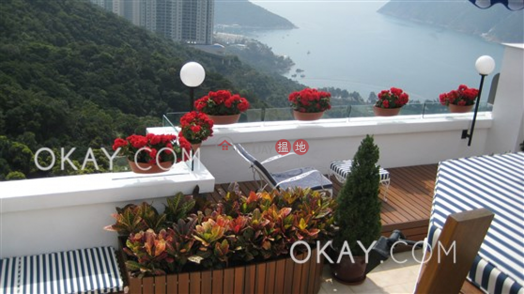 HK$ 80M | Sea Cliff Mansions, Southern District, Unique penthouse with sea views, rooftop & balcony | For Sale