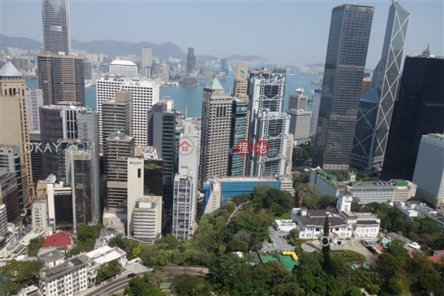 HK$ 118,000/ month, The Albany | Central District | Exquisite 3 bed on high floor with sea views & balcony | Rental