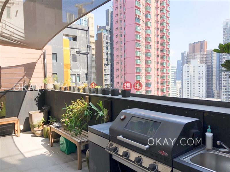 Property Search Hong Kong | OneDay | Residential, Sales Listings | Unique 1 bedroom on high floor with rooftop | For Sale