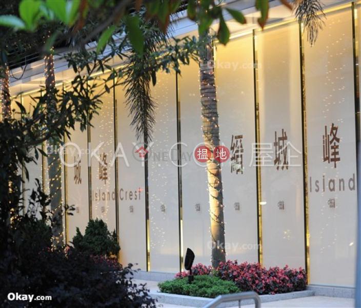 HK$ 33,000/ month   Island Crest Tower 2   Western District   Elegant 1 bedroom on high floor with balcony   Rental