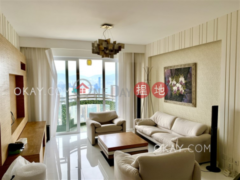 Tasteful 3 bed on high floor with sea views & balcony | Rental|Beverly Hill(Beverly Hill)Rental Listings (OKAY-R72072)_0