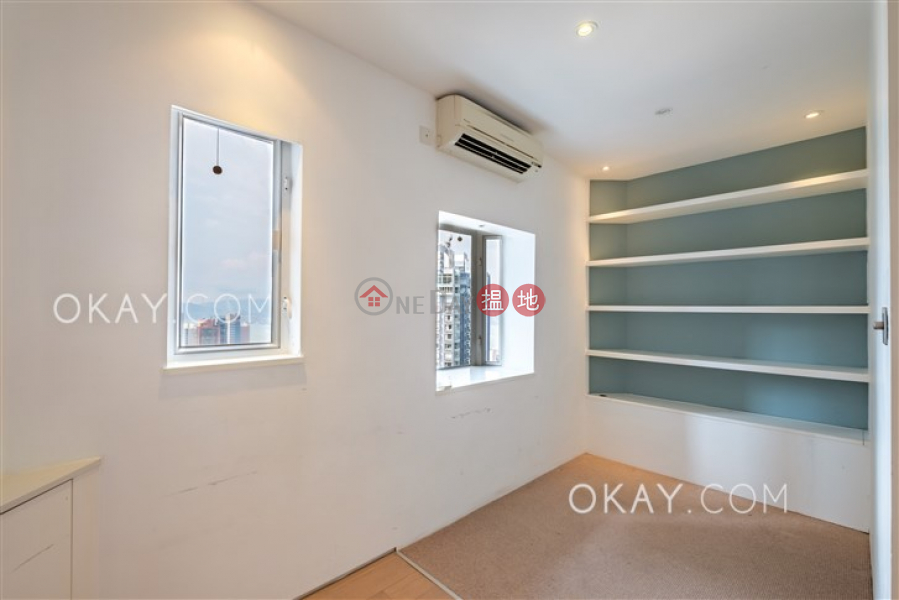 HK$ 31.5M Albron Court | Central District Efficient 3 bed on high floor with balcony & parking | For Sale