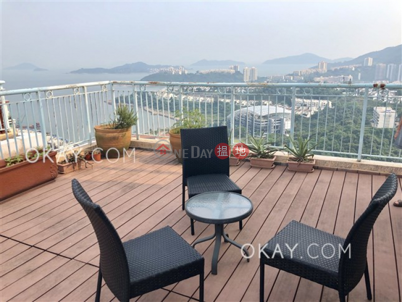 Exquisite 3 bed on high floor with sea views & balcony | Rental | Discovery Bay, Phase 12 Siena Two, Joyful Mansion (Block H3) 愉景灣 12期 海澄湖畔二段 安澄閣 Rental Listings