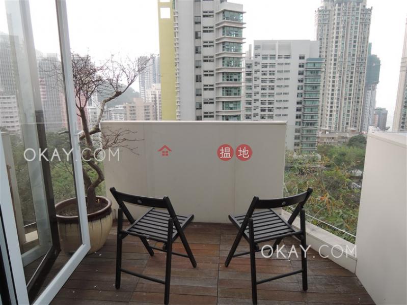 3房2廁,實用率高,連車位,露台富林苑 A-H座出租單位84薄扶林道 | 西區|香港出租-HK$ 53,000/ 月