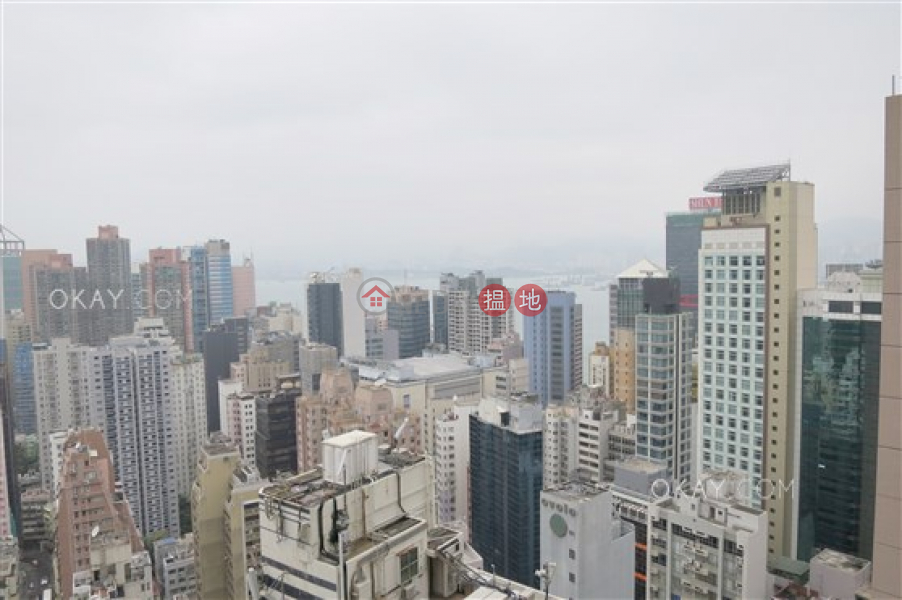 Property Search Hong Kong | OneDay | Residential | Sales Listings, Unique 3 bed on high floor with harbour views & balcony | For Sale