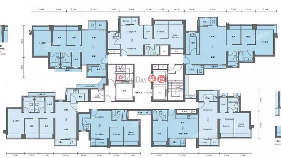 Island Crest Tower1 Middle, Residential | Rental Listings HK$ 32,000/ month