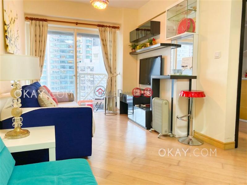 香港搵樓|租樓|二手盤|買樓| 搵地 | 住宅-出租樓盤-2房1廁,星級會所,露台《干德道38號The ICON出租單位》