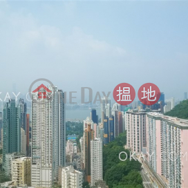 Rare 4 bedroom on high floor with balcony & parking | For Sale