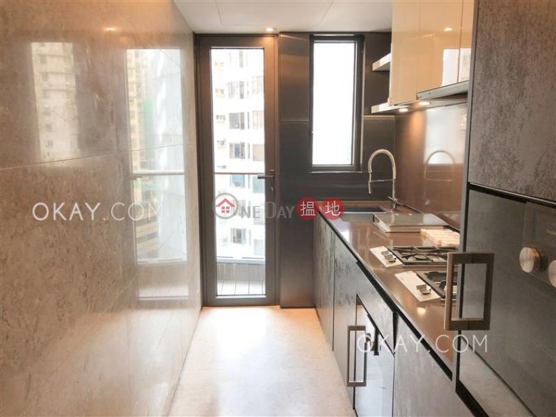 2房1廁,星級會所,露台《殷然出租單位》-100堅道 | 西區香港-出租-HK$ 45,000/ 月