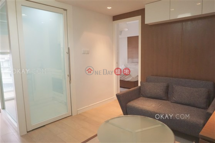Property Search Hong Kong | OneDay | Residential Rental Listings | Tasteful 1 bedroom on high floor with balcony | Rental