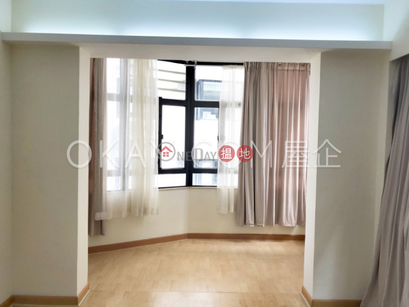 Unique 3 bedroom on high floor with balcony & parking   For Sale   Happy Mansion 快樂大廈 Sales Listings