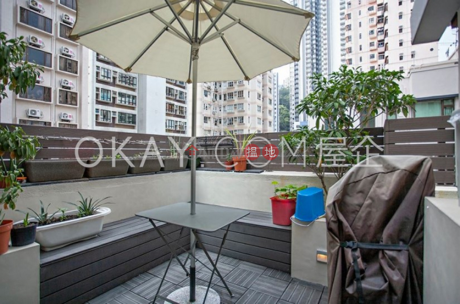 Lovely 2 bedroom on high floor with terrace | Rental | Nga Yuen 雅園 Rental Listings