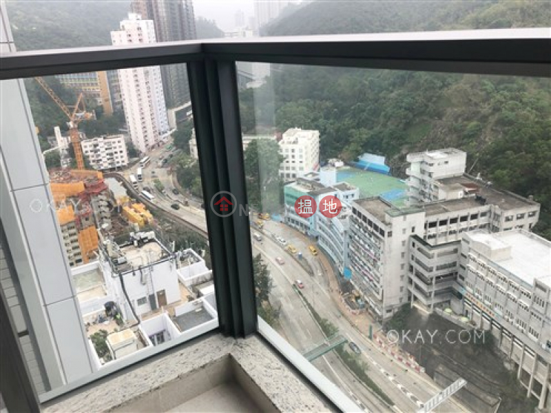 Popular 2 bedroom on high floor with balcony | Rental | Lime Gala Block 1A 形薈1A座 Rental Listings