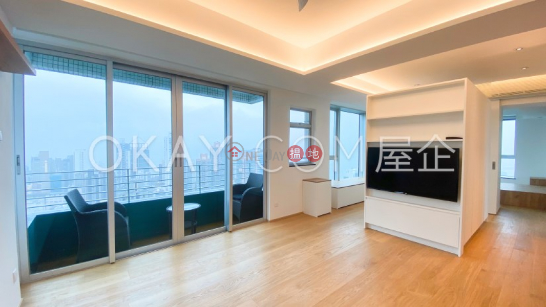 Popular 1 bedroom on high floor with balcony   Rental, 3 Kui In Fong   Central District Hong Kong, Rental HK$ 48,000/ month