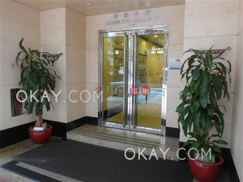 Elegant 3 bedroom with balcony | Rental, Hamilton Mansion 美登大廈 Rental Listings | Wan Chai District (OKAY-R369897)