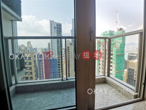 Lovely 3 bedroom on high floor with balcony | Rental|My Central(My Central)Rental Listings (OKAY-R326736)_0