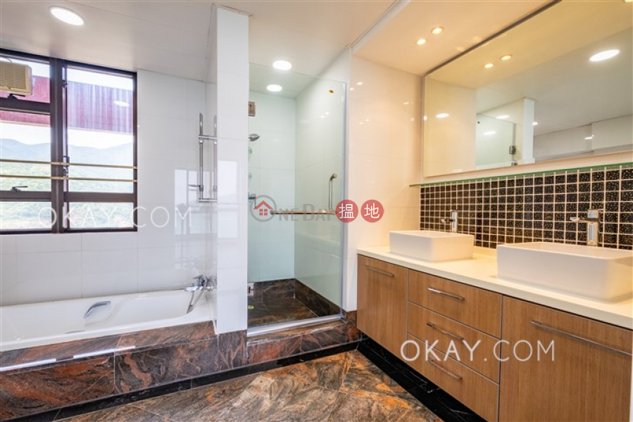 HK$ 87,000/ month | Pacific View, Southern District Luxurious 4 bed on high floor with sea views & balcony | Rental
