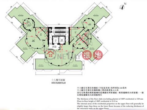 油柑頭4房豪宅筍盤出租 住宅單位 壹號九龍山頂(One Kowloon Peak)出租樓盤 (EVHK43927)_0