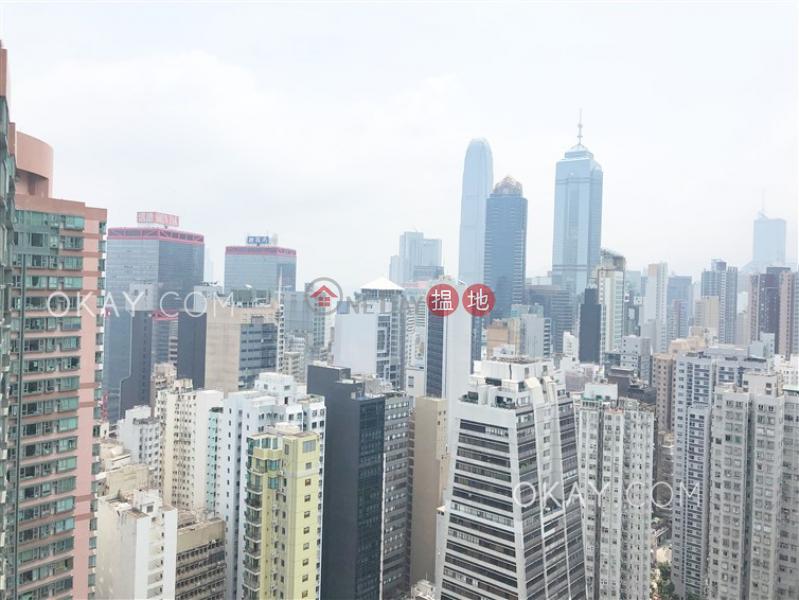 HK$ 30,000/ 月|盈峰一號西區1房1廁,極高層,星級會所,露台《盈峰一號出租單位》