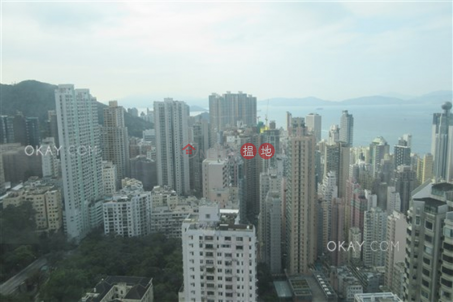 HK$ 20M, 2 Park Road Western District Gorgeous 2 bed on high floor with sea views & balcony | For Sale
