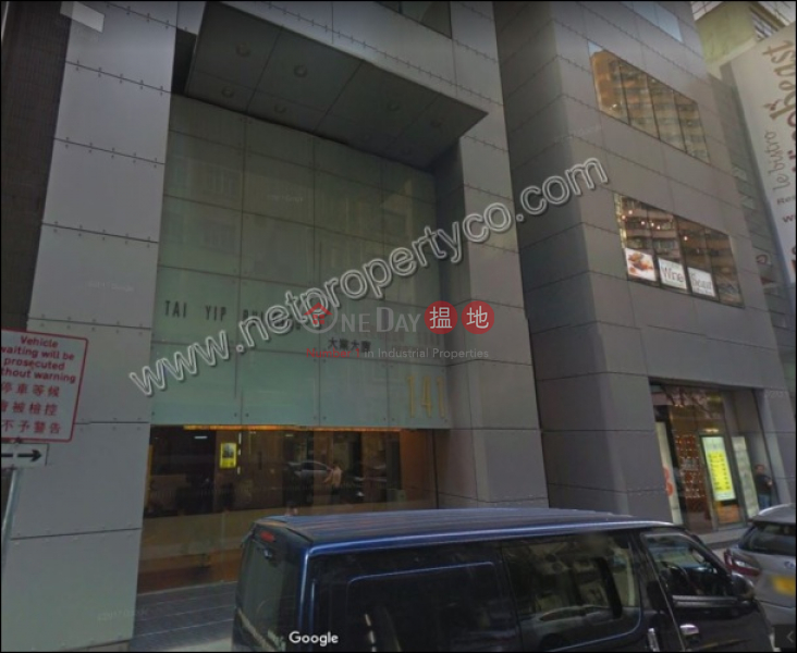 A+ Grade Lobby, High ceiling office for Lease 141 Thomson Road | Wan Chai District Hong Kong | Rental, HK$ 71,712/ month