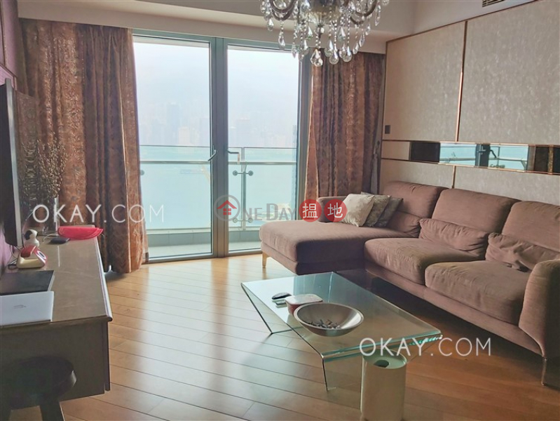 HK$ 55,000/ month, The Harbourside Tower 2, Yau Tsim Mong Luxurious 3 bedroom with harbour views & balcony | Rental
