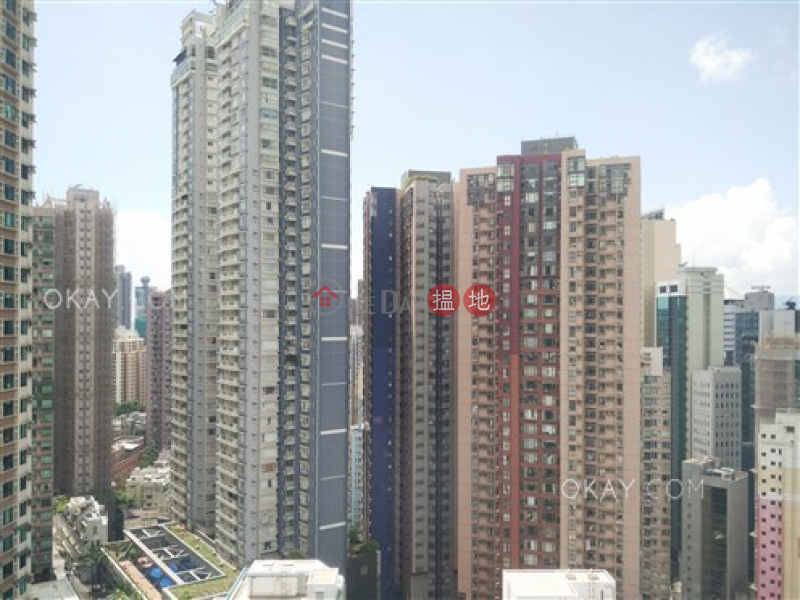 Lovely 1 bedroom on high floor with balcony | Rental 28 Aberdeen Street | Central District Hong Kong, Rental, HK$ 28,000/ month
