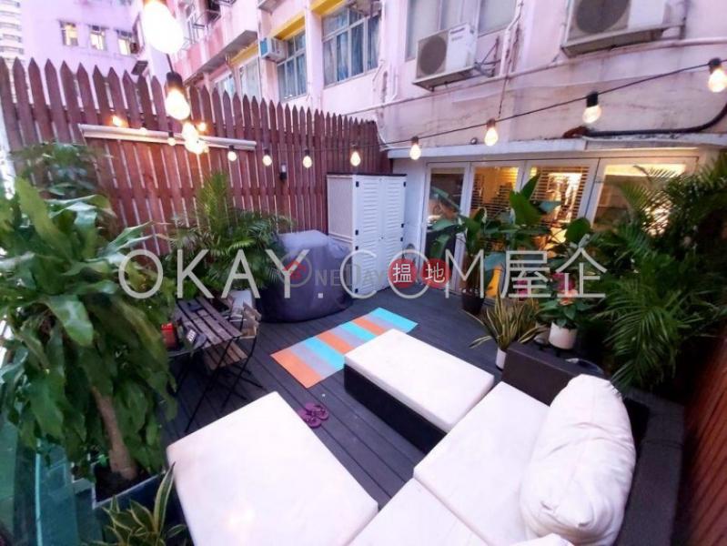 Generous studio with terrace   Rental, Malahon Apartments 美漢大廈 Rental Listings   Wan Chai District (OKAY-R55033)
