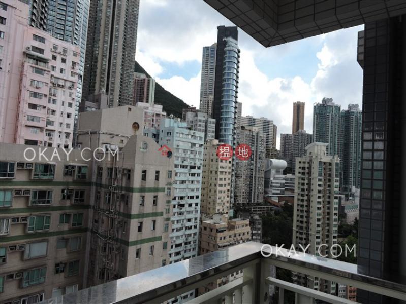 Popular 2 bedroom on high floor with balcony | Rental | Centrestage 聚賢居 Rental Listings