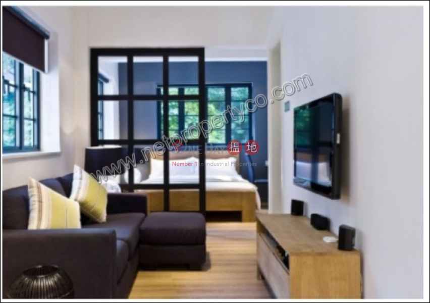 HK$ 33,500/ month | Shama Wanchai, Wan Chai District, Service Apartment for Lease with Terrace