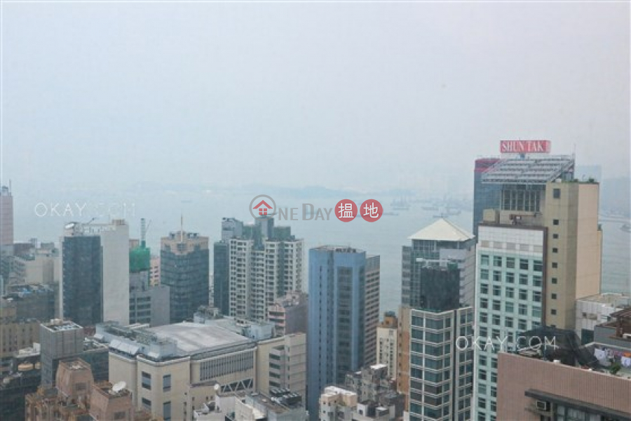 HK$ 50M, Centrestage | Central District | Lovely 3 bed on high floor with harbour views & balcony | For Sale