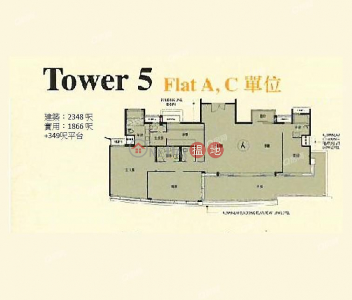 Larvotto | 3 bedroom High Floor Flat for Sale, 8 Ap Lei Chau Praya Road | Southern District | Hong Kong | Sales, HK$ 69.8M