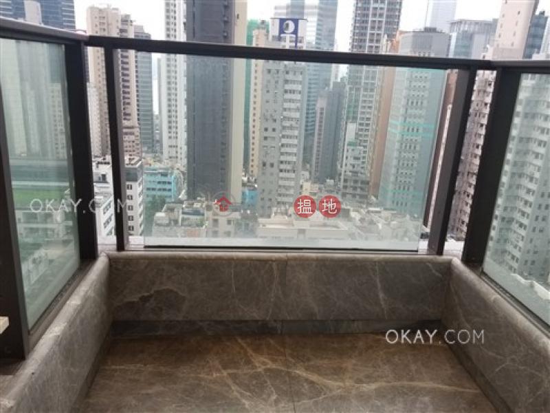 Elegant 1 bedroom with balcony | Rental, The Pierre NO.1加冕臺 Rental Listings | Central District (OKAY-R209616)