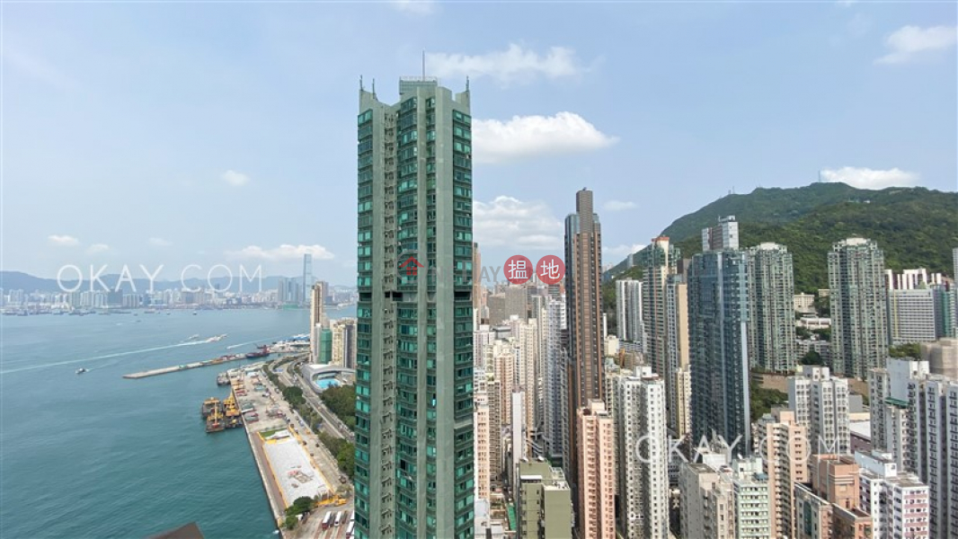 HK$ 13M The Merton   Western District Luxurious 2 bed on high floor with sea views & balcony   For Sale