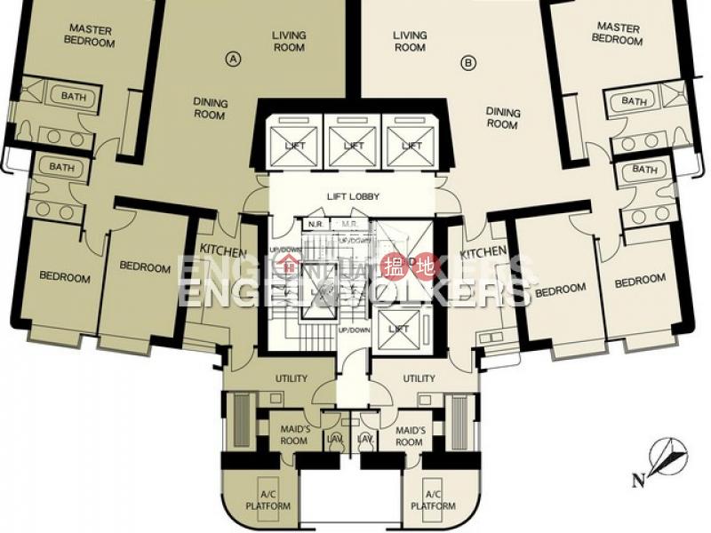中半山三房兩廳筍盤出租|住宅單位|17-23舊山頂道 | 中區-香港-出租-HK$ 92,000/ 月