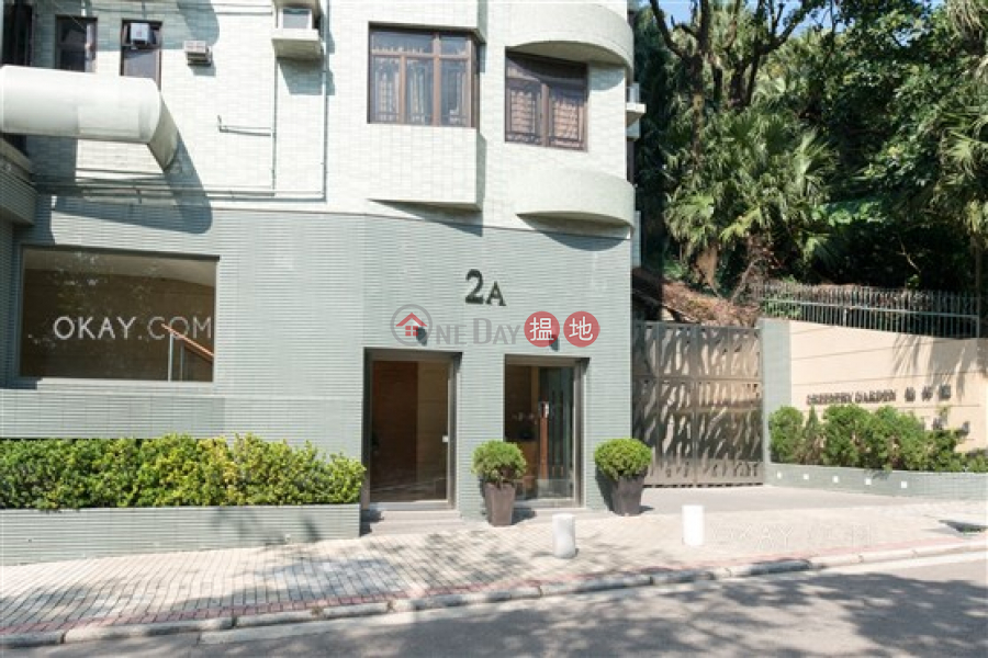 HK$ 24.5M Greenery Garden Western District Tasteful 3 bed on high floor with sea views & balcony | For Sale