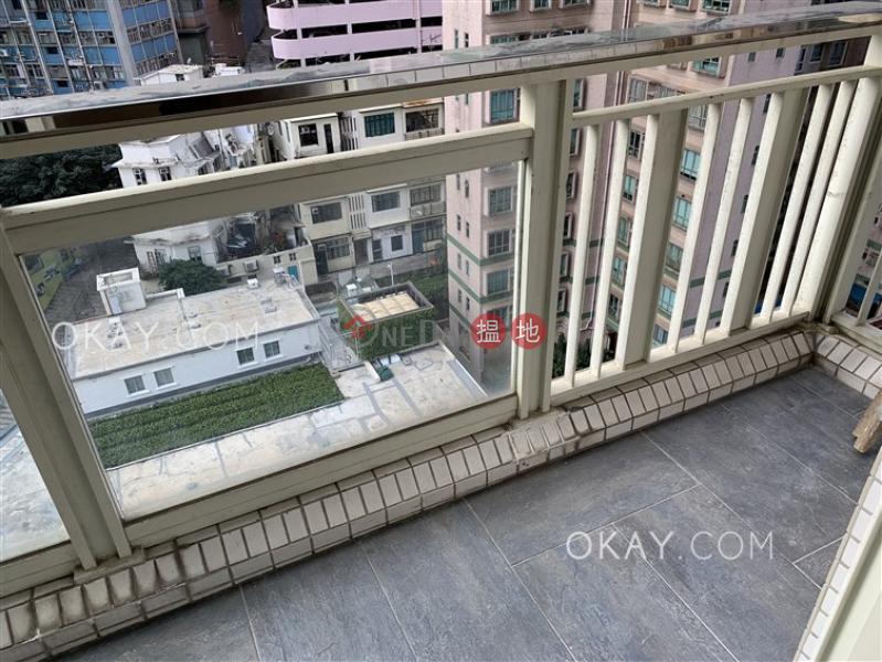 香港搵樓|租樓|二手盤|買樓| 搵地 | 住宅-出租樓盤-2房1廁,星級會所,可養寵物,露台《聚賢居出租單位》