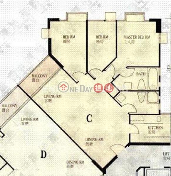 寶馬山三房兩廳筍盤出租|住宅單位-1寶馬山道 | 東區-香港出租|HK$ 35,800/ 月