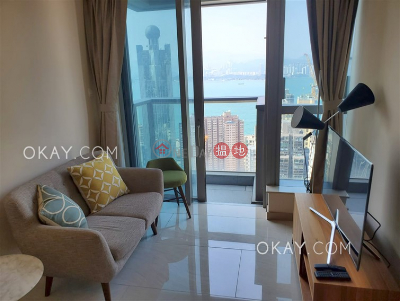 Property Search Hong Kong | OneDay | Residential Rental Listings | Unique 2 bedroom on high floor with balcony | Rental