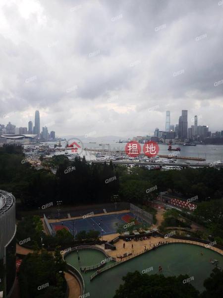 HK$ 26,800/ 月|維景花園B座東區|維港海景,鄰近地鐵,廳大房大,實用兩房《維景花園B座租盤》
