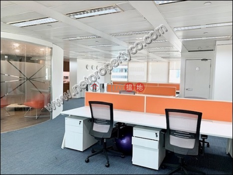HK$ 147,744/ month, Hip Shing Hong Centre, Central District, Fully furnished big office space with seaview