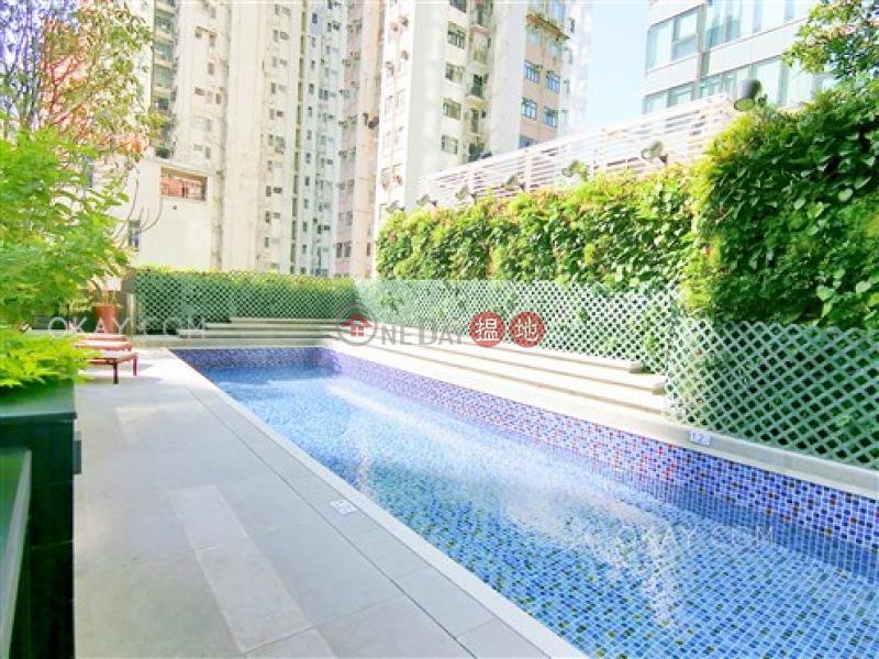 1房1廁,極高層,可養寵物,露台《瑧璈出租單位》321德輔道西 | 西區香港-出租-HK$ 28,000/ 月
