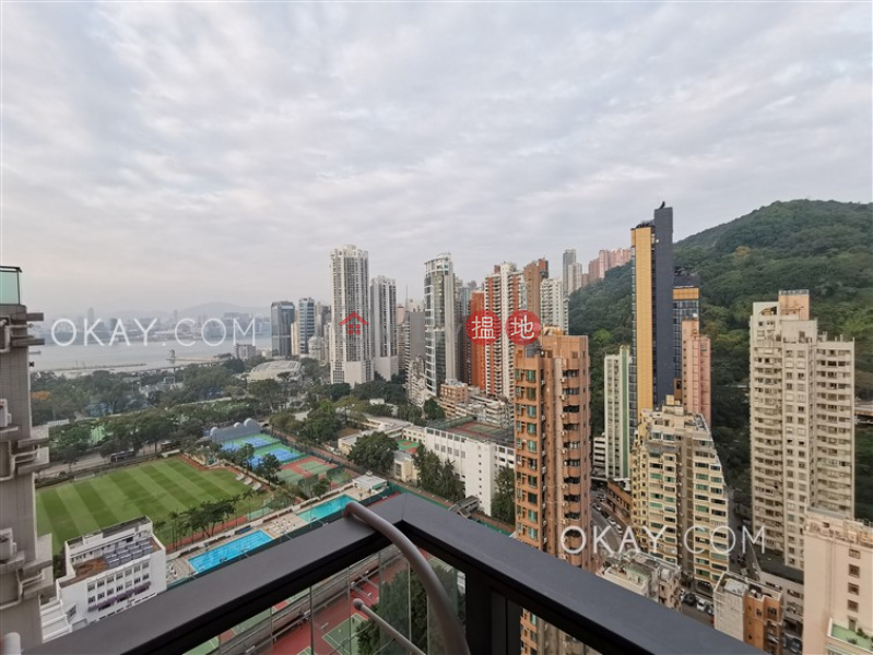 Property Search Hong Kong | OneDay | Residential, Rental Listings | Intimate 1 bedroom on high floor with balcony | Rental