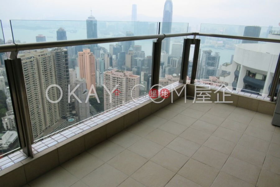 Property Search Hong Kong | OneDay | Residential, Rental Listings | Unique 3 bedroom on high floor with balcony & parking | Rental