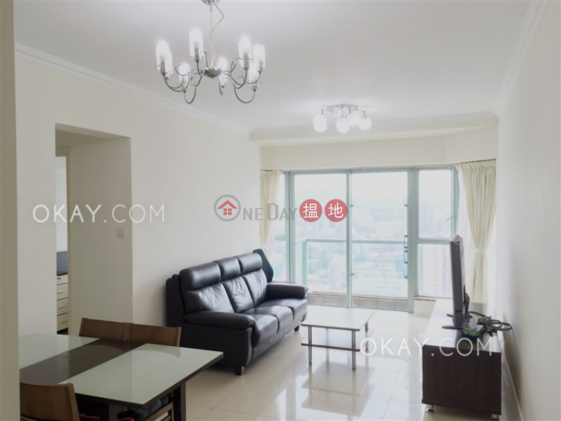 Charming 3 bedroom with harbour views & balcony | Rental | Tower 3 The Victoria Towers 港景峯3座 Rental Listings