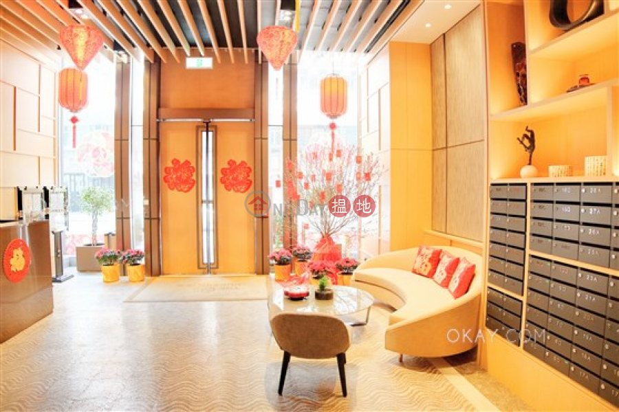 Popular 2 bed on high floor with sea views & balcony | For Sale | The Hudson 浚峰 Sales Listings