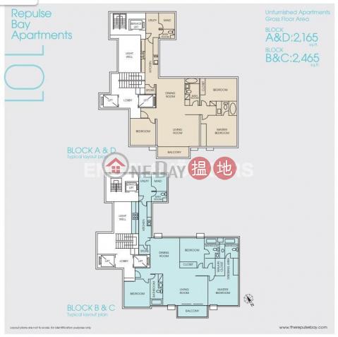 淺水灣三房兩廳筍盤出租|住宅單位|淺水灣花園大廈(Repulse Bay Apartments)出租樓盤 (EVHK95329)_0