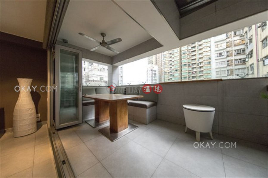 Gorgeous 1 bedroom on high floor with terrace | Rental | 1 Stone Nullah Lane | Wan Chai District | Hong Kong | Rental HK$ 38,000/ month
