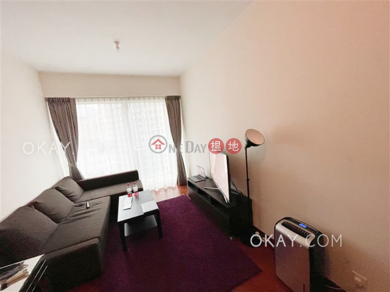 HK$ 28,000/ month | The Avenue Tower 1 Wan Chai District Unique 1 bedroom on high floor with balcony | Rental