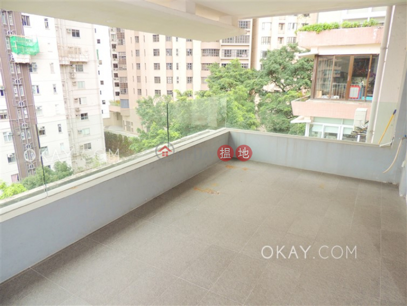 Efficient 3 bed on high floor with balcony & parking | Rental | 3 Old Peak Road | Central District | Hong Kong Rental, HK$ 88,000/ month